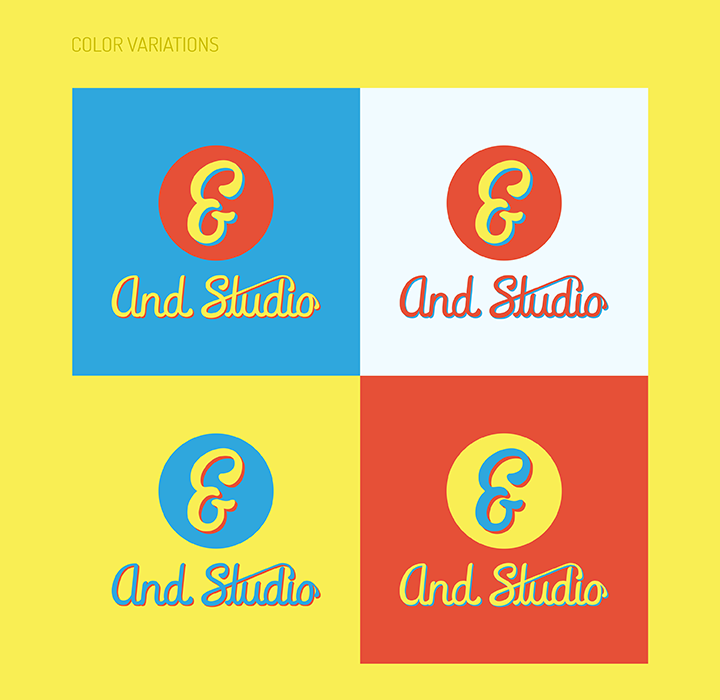 Brand Style Guide - And Studio - Color Variations