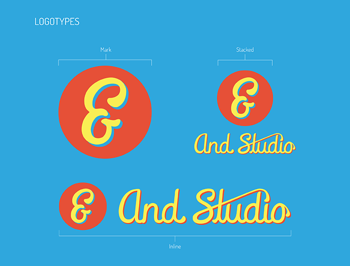 Brand Style Guide - And Studio - Logotypes